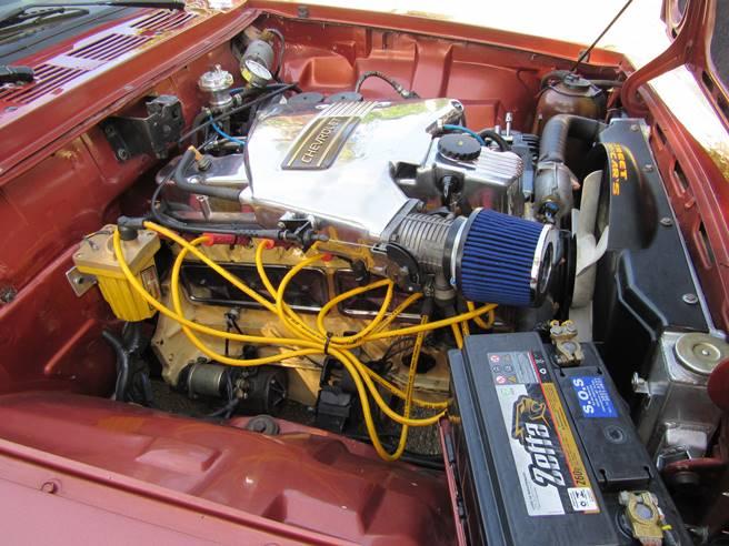 Caravan Opala SS 76 77 78 79 80 6cc injetada motor 03