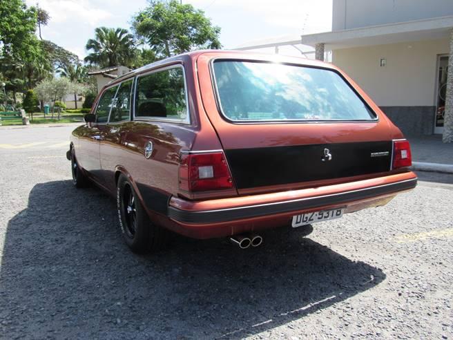 Caravan Opala SS 76 77 78 79 80 6cc injetada traseira