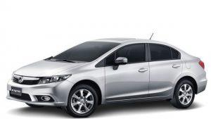 Honda Civic 2014 preço das versões LXS, LXR e EXR