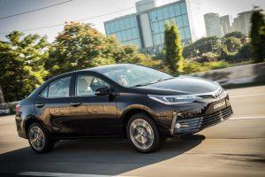 Toyota Corolla 2018 reestilizado preço ficha técnica lançamento