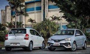 Novo Toyota Etios 2018 chega às lojas reestilizado: veja fotos