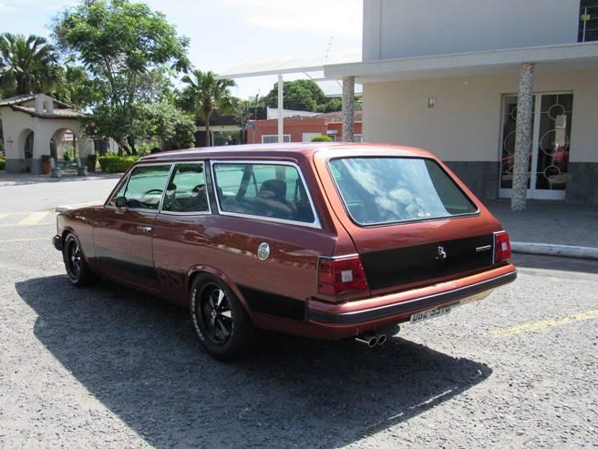 Caravan Opala SS 76 77 78 79 80 6cc injetada traseira 01