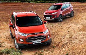 EcoSport 2013 – Começa a Chegar nas Concessionárias Ford