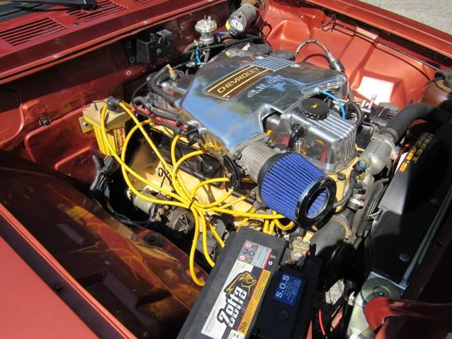 Caravan Opala SS 76 77 78 79 80 6cc injetada motor